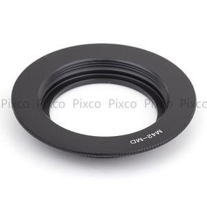 Image 5 - Pixco lens adapter work for M42 Screw Lens to Minolta MD MC Camera Mount  XD 7 XD 5 XD 11 XG XG7 X370 X500 X 700