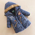 YNB High Quality Boys Winter Coat Jacket Children's Winter Jackets for Girls Keep Warm 5-7Y Children's Clothing Red Blue Green
