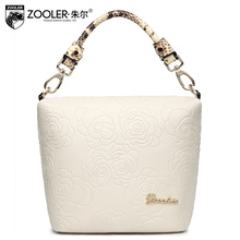 2016 spring and summer women's cowhide handbag small bag personality charm of women's bags one shoulder handbag messenger bag