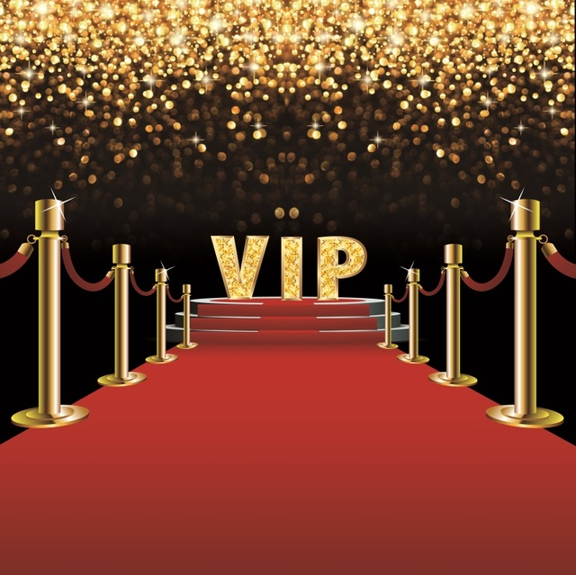Laeacco Stage Backdrop Photography Red Carpet Vip Party Gold Polka Dots Baby Portrait Photo Background Photocall Photo Studio Background Aliexpress