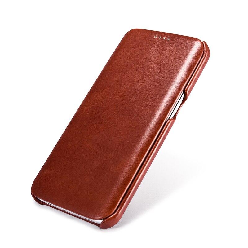 De luxe En Cuir Véritable étui pour samsung Galaxy S7/S7 Bord Fundas Mode Plein Écran Couvert Protection Housse coques de téléphone