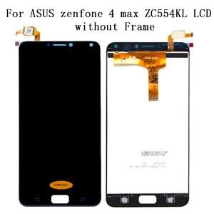 Image 2 - قطع غيار لهاتف ASUS Zenfone 4 Max ZC554KL بشاشة مقاس 5.5 بوصة تعمل باللمس مجموعة رقمية Zenfone 4 MAX قطع غيار لهاتف ASUS ZC554KL LCD