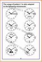 Instrucciones de reloj de cuarzo naviforce