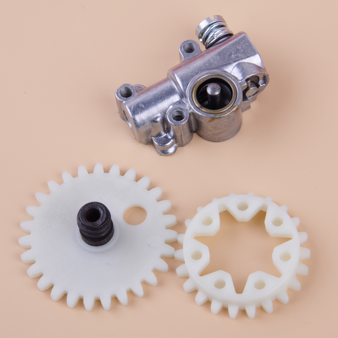 LETAOSK Chain Oil Pump Spur Gear Wheel Fit For Stihl 038 048 MS380 MS381 Chainsaw 1119 640 3200