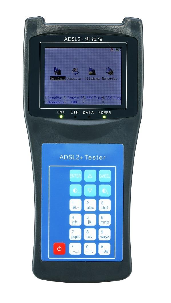 Testeur ADSL RY2100 ADSL2 + peut mesurer le trafic à large bande avec la fonction DMM