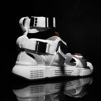 Mens Gladiator Sandals Casual Design Comfortable and Soft Platform Beach Sandals Male Canvas Shoes Men Sandals Summer 2019