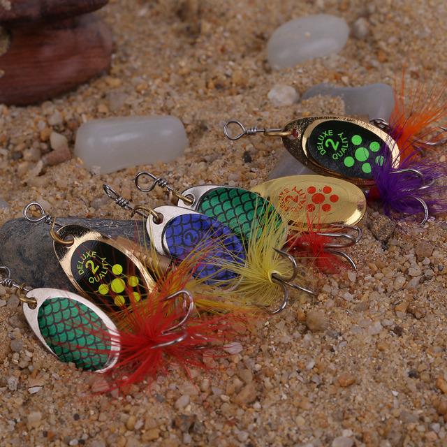 6 Pcs 3 Hooks Fishing Lures Mix Style Outdoor Fishing Lifelike Tackle Bait With Case Box free shipping