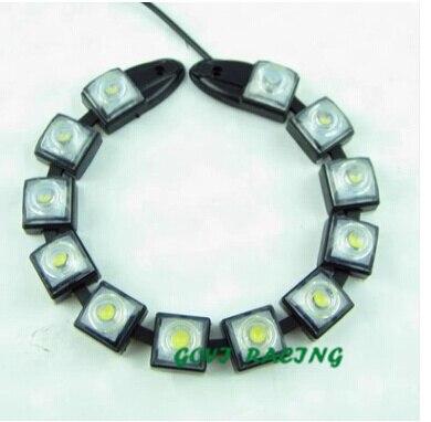 12 LED Eagle ματιών COB DRL αυτοκίνητο Daytime - Φώτα αυτοκινήτων - Φωτογραφία 2