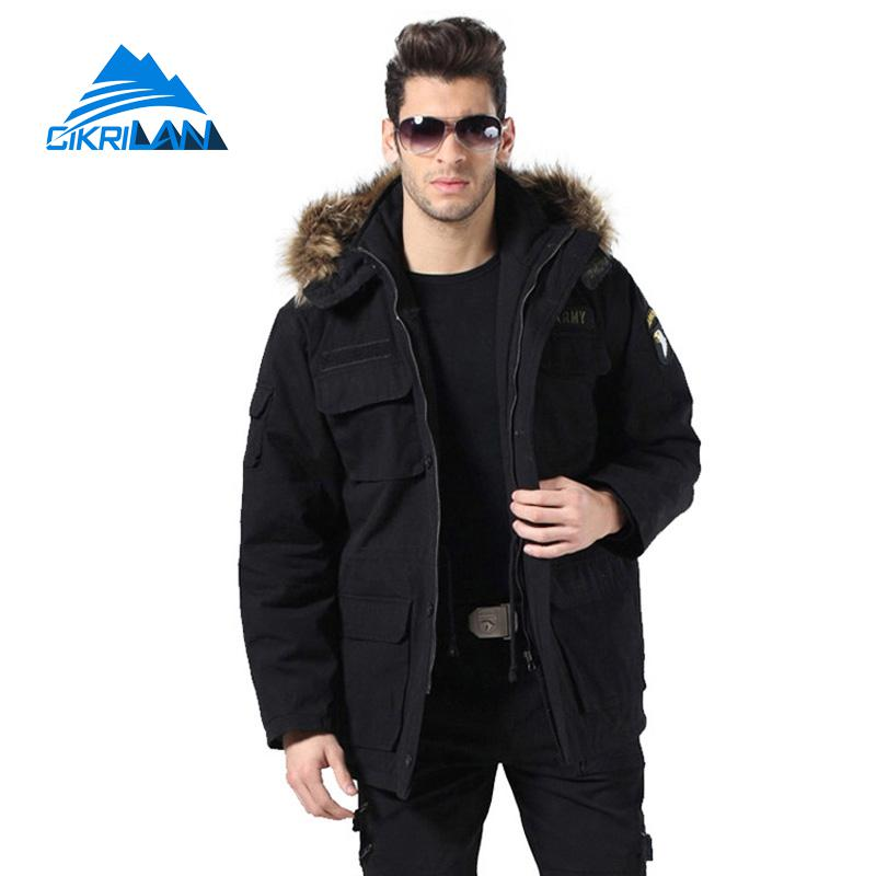 2017 Man Military Tactical Army Combat Coat Climbing Hiking Cotton Outdoor Winter Jacket Men Windbreaker Camping Chaqueta Hombre winter outdoor tactical military training windbreaker hooded coat outwear men s hiking climbing cotton warm waterproof jacket