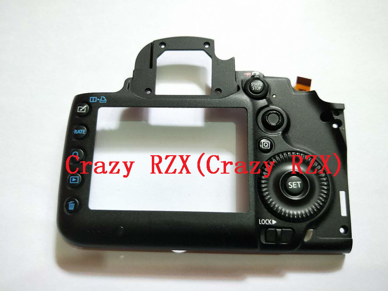 100% New For Canon 5D Mark III 5D3 Back Cover Rear Case Camera Replacement Unit Repair Parts new original 5d iii lcd top cover head flash cover for canon 5diii top 5d mark iii open unit 5d3 cg2 3197 020 digital camera