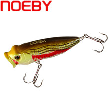 NOEBY Topwater Popper Fishing Lure 35mm 2.5g Isca Artificial Hard Bait Swimbait 3D Eyes Crankbait Fishing Wobblers Tackle new arrival 1 pcs 9 5cm 12g popper fishing lures 3d eyes bait crankbait wobblers tackle isca poper pesca japan fa 413