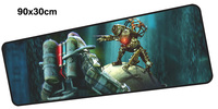 Bioshock Mouse Pad Gamer 900x300mm Notbook Mouse Mat Large Gaming Mousepad Large Locrkand Pad Mouse PC