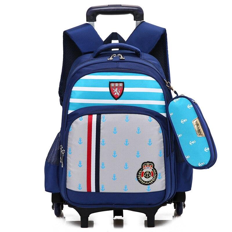 Brand Trolley school Backpack for Girls and Boys student Fashion Orthopedic School Bag Waterproof shoulder bag Mochila Rucksacks