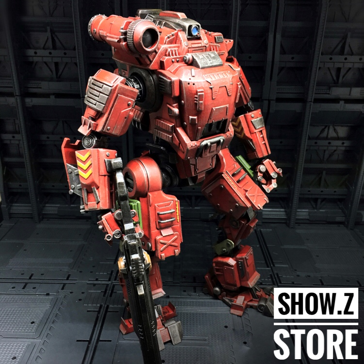 все цены на [Show.Z Store] JoyToy Source Acid Rain UNF Zous Mecha Red Version Action Figure онлайн