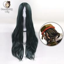 Парики для косплея, длинные волнистые термостойкие синтетические вечерние парики, 100 см