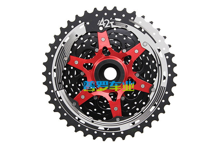 SUNRACE CSMS3 11-42 10-SPEED MTB BIKE CASSETTE fits SRAM SHIMANO 1x10