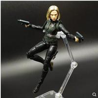 SHF The Black Widow Marvel Model Ornaments Hulk Action Figure Toys Avengers