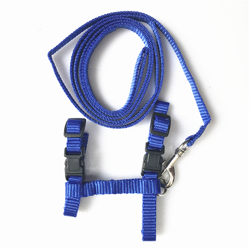 Nylon Pet Cat Harness And Leash Products For Cat Vest Adjustable Comfort Soft Pet Harness Pets Belt Accessories For Cat Collar #3