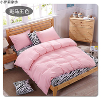 BEST WANSD 100 Bamboo Fiber Jacquard Duvet Cover Set 4PCS 1 Sheets 1 Quilt 2 Pillowcase