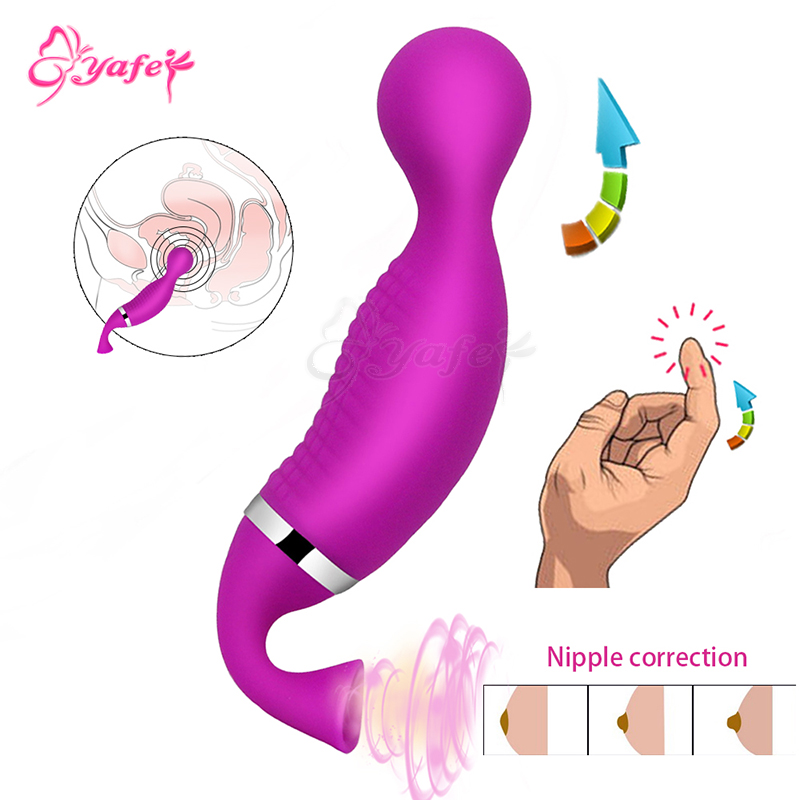 YAFEI 12 speed G spot Vibrator Tongue Lick Sucking Female Nipple Vibrator Adult sex toys Clit Stimulation Massager Women sex toy baile nipple vibrator breast enlargement suction cups spinning nipple stimulators massager 7 rotation patterns sex toy for women
