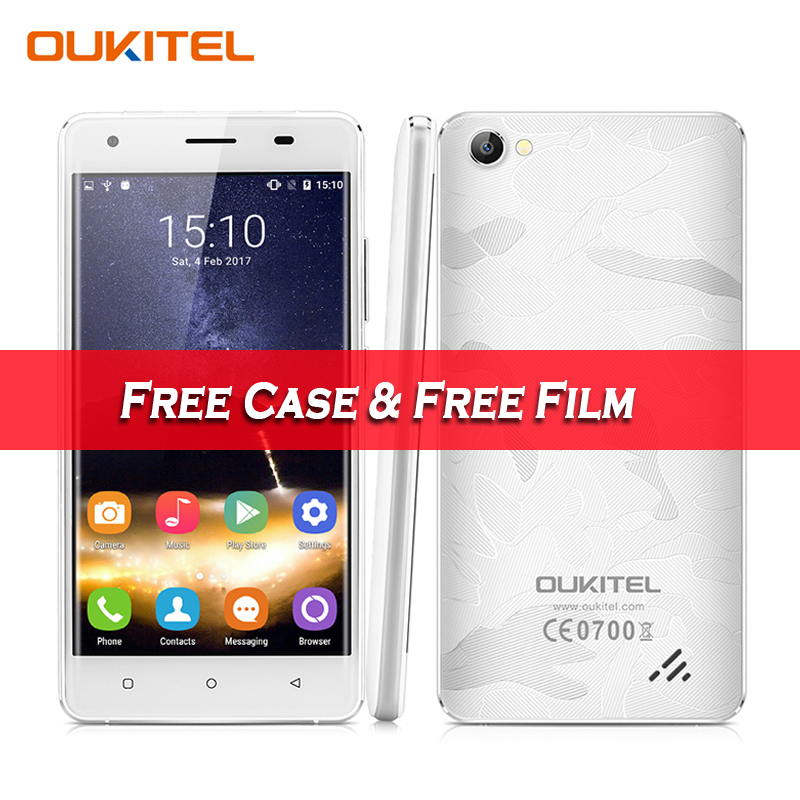 Original Oukitel C5 Pro 5 0 4G Android 6 0 Unlocked Smartphone MTK6737 Quad Core 1