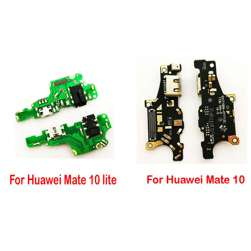 New Micro Dock Connector Charger Plug Board For Huawei mate 10 lite mate10lite USB Charging Port Flex Cable + Earphone Jack Flex