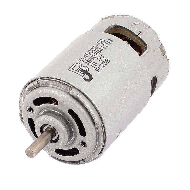 DC 18V 18000RPM 5mm Dia Shaft 2 Pin Terminals Electric DC Motor цены онлайн