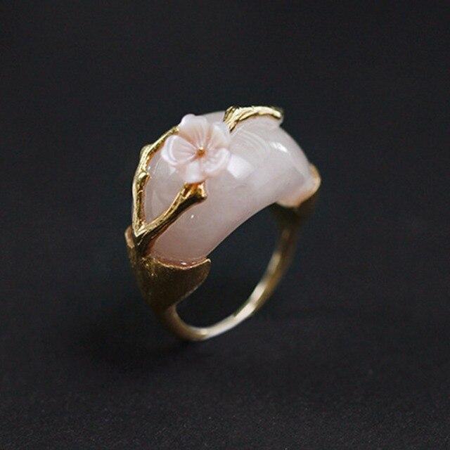 Handmade Natural Design Aventurine Stones Rings3