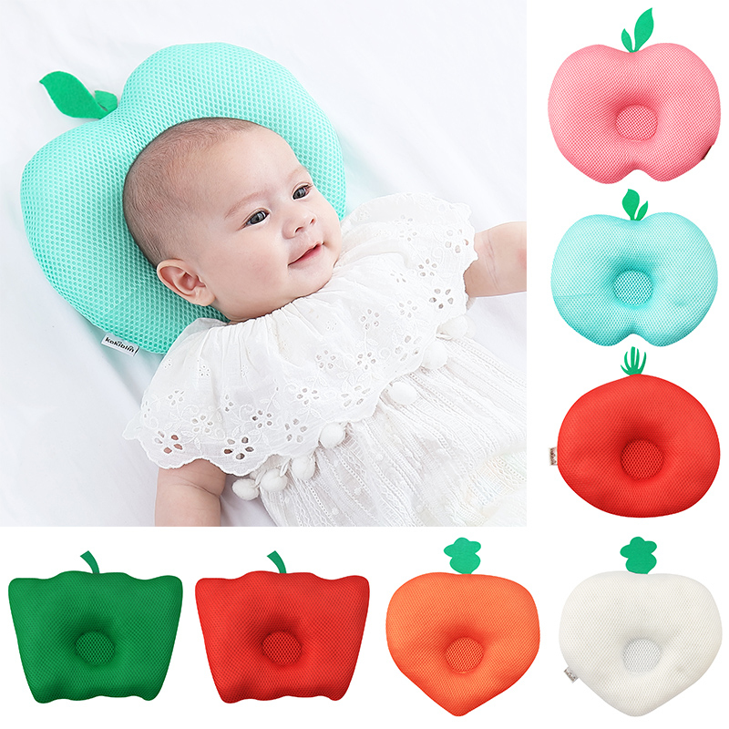 Newborn Infant Anti Roll Pillow Flat Head Neck Prevent Infant Support Baby Gifts Baby Pillow Dropshipping