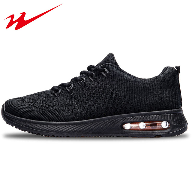 DOUBLESTAR MR Brand Men Running Shoes Flywire Mesh Sneaker Shoes Cushioning Male Outdoor Racer Gym Shoes zapatos para correr