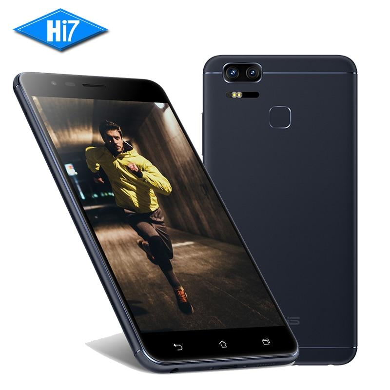 Original ASUS Zenfone 3 Zoom ZE553KL 4G RAM 128G ROM 5 5inch Android 6 0 Fingerprint