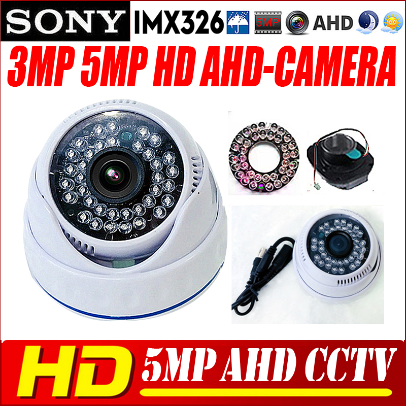 AHD Camera 1080P/5MP CCTV Security AHDM AHD-H CCTV Camera Sony IMX326 Sensor HD IR-Cut Night vision indoor Camera 1080P 2.8mm