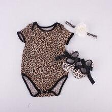 Детская одежда Ребенка Ползунки Новорожденных Следующая Комбинезоны младенческой мультфильм Животных одежда для новорожденных набор romper + обувь + оголовье 3 шт. set #7B3002(China (Mainland))