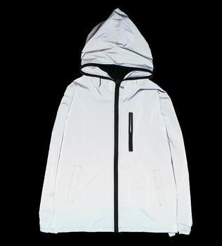 5XL 4XL Men's 3M Full Reflective Jacket Light Hoodies Women Jackets Hip Hop Waterproof Windbreaker Hooded Streetwear Coats Man 1