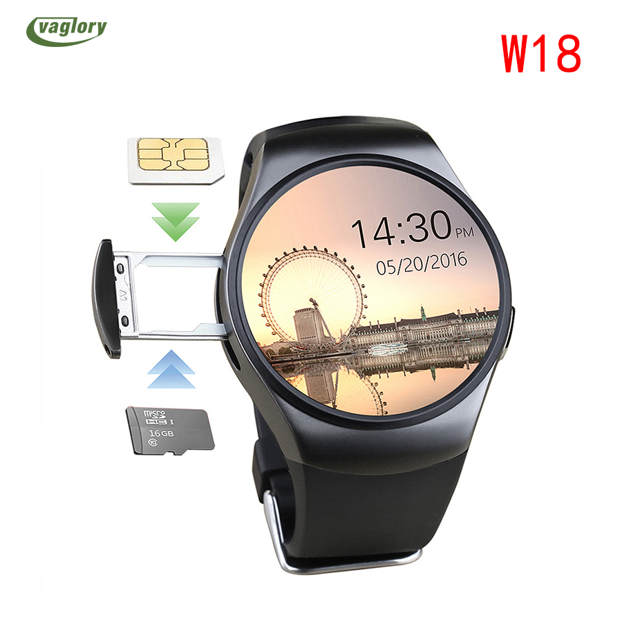 PYiALCY W18 Smart Watch Bluetooth Heart Rate Monitor Wrist Support SIM TIF Card Smartwatch Remote Camera For IOS Android Phone smart wrist watch heart rate monitor wristwatch pedometer remote camera bluetooth hd screen smartwatch for ios android phone men