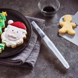 Image 4 - Nozzles Set Tool Dessert Decorateurs Cake Decorating Pen Icing Piping Cream Spuit Tips Muffin Cake Decorating Pen
