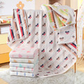 "6 layers Muslin Cotton Baby Blanket  Newborn Soft baby  quilt for  crib stroller car aircraft 110cmX110cm(43""X43"")"