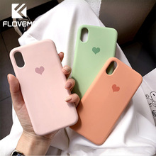 FLOVEME Soft Silicone Case Cover For iPhone XR XS MAX X 7 8 6 6s Plus Luminous TPU Ultra Thin Cases