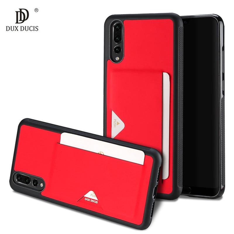 Titulaire de la Carte de crédit Portefeuille En Cuir Couverture Pour Huawei P20 Pro cas De Luxe Magnétique Stand Cas Pour Huawei P20 Lite/Nova 3E Fundas