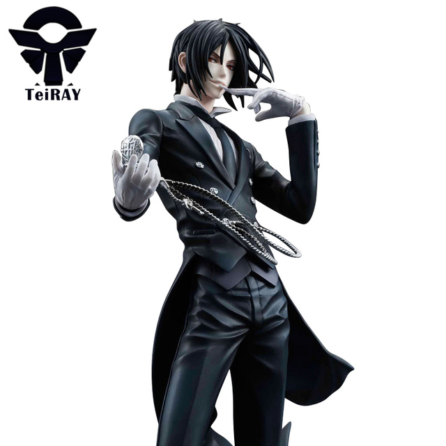 Black Butler Sebastian Michaelis Anime Action Figure 20cm Toys