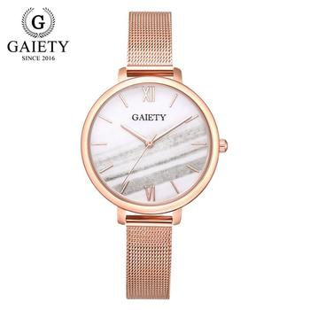 Gaiety Luxury 2 PCS Set Watch Women Rose Gold Water Drill Bracelet Watch Jewelry Ladies Female Hour Casual Quartz Wristwatches 13