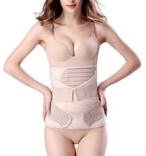 Miss Moly 3 in 1 Postpartum Support Recovery Belly Wrap Waist/Pelvis Belt CIncher Body Shaper Maternity Postnatal Shapewear Set