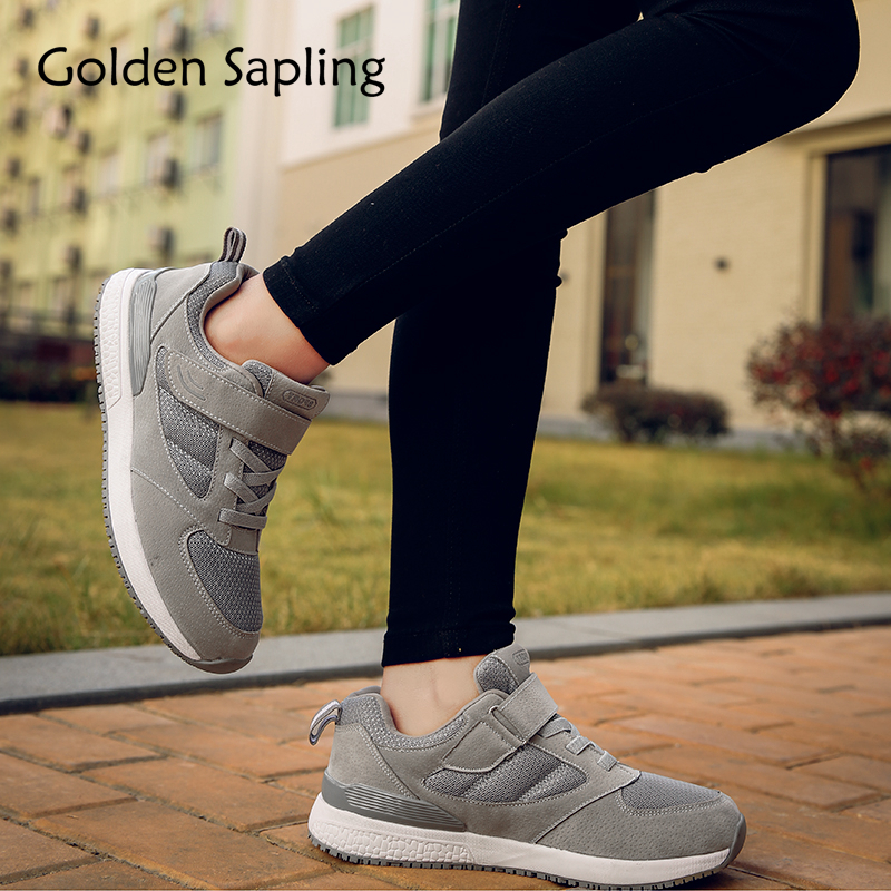 Golden Sapling Womens Running Shoes Breathable Women Sneakers Air Mesh Rubber Lace Ladies Sport Shoes Athletic Women's Sneakers kelme 2016 new children sport running shoes football boots synthetic leather broken nail kids skid wearable shoes breathable 49