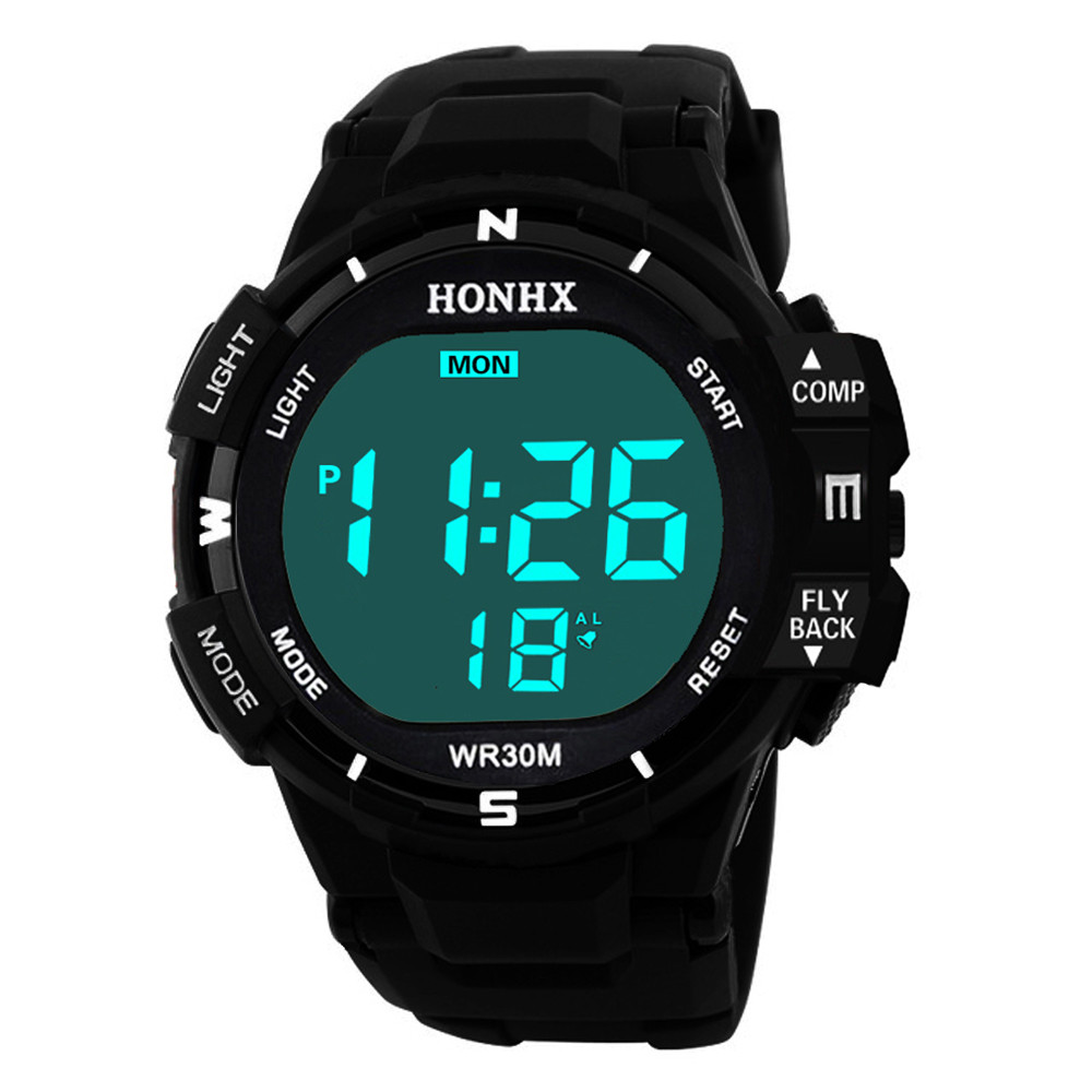 Digital Watch Sport Luxury Men Analog Digital Military  LED Waterproof relogio digital Wrist Watch dropship