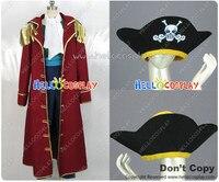 Одна деталь Гол Д. Роджер Косплэй костюм пиратская шляпа H008