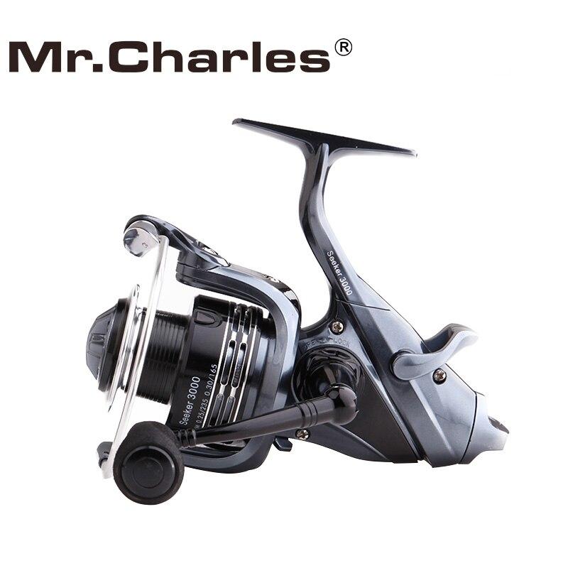 Mr.Charles Seeker Spinning Fishing Reel, sistema de arrastre trasero - Pescando