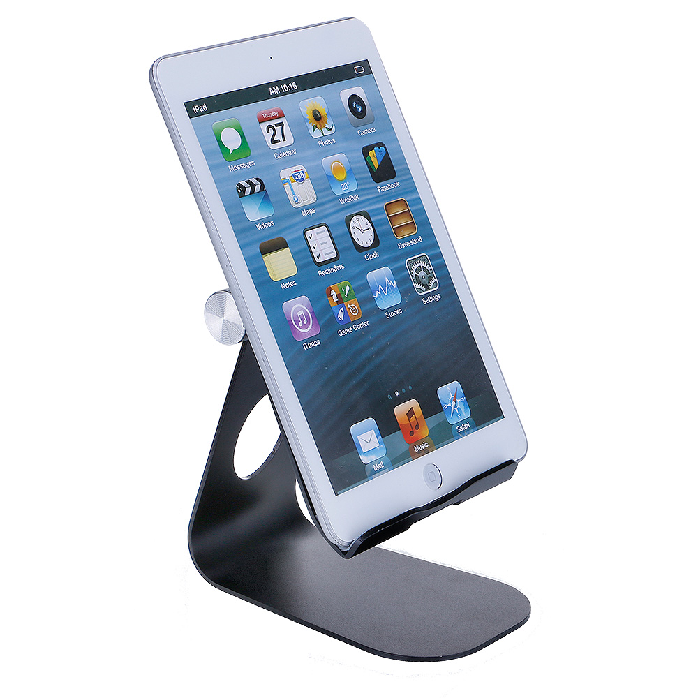 210 Degree Rotatable Multiangle Aluminium Alloy Holder Stand For iPad Tablet Smartphone
