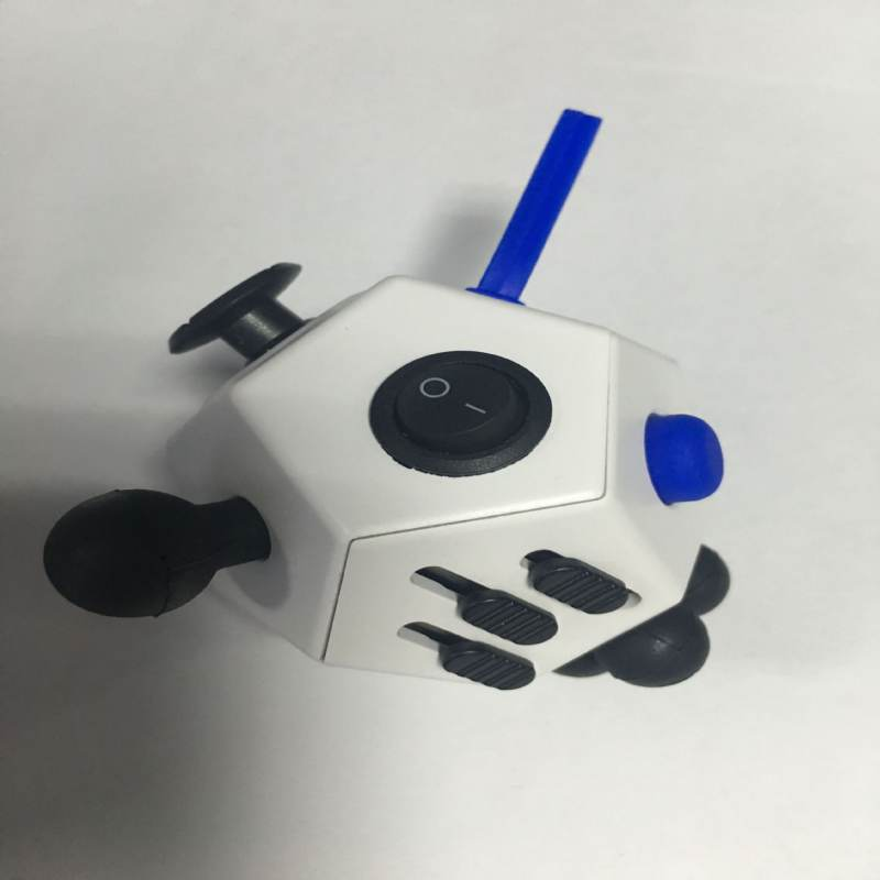 2017 New Style Girl Boys Six Sided Fidget Cube Toys Fashion Funny Reduce Stress Magic Cube X6