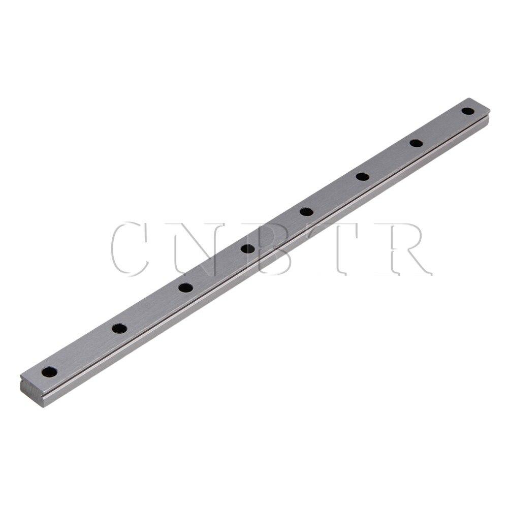 CNBTR 30cm Length MGN15 Bearing Steel Linear Sliding Guide Slide Rails Silver cnbtr 30cm length mgn7 bearing steel linear sliding guide slide rails silver