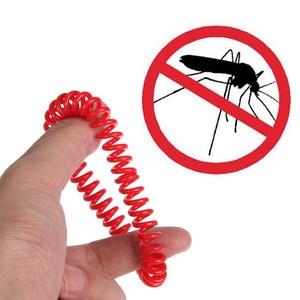 Image 2 - 5 шт. анти средство от насекомых, комаров на запястье браслет для волос кемпинг открытый удобный и практичный бытовой Лидер продаж